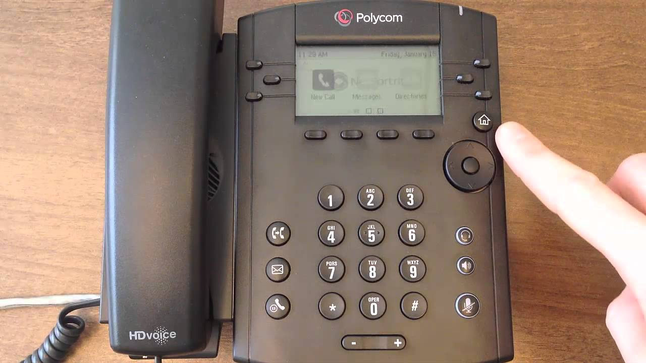Polycom VVX310 - Do Not Disturb - NetFortris Inc