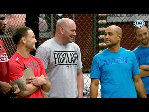 TUF 19: Coaches Edgar and Penn make their picks