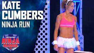 Energiser Bunny Kate Cumbers Full Run | Australian Ninja Warrior 2017