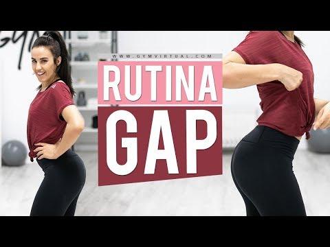 Rutina de glúteos, abdomen y piernas | GAP 10 minutos