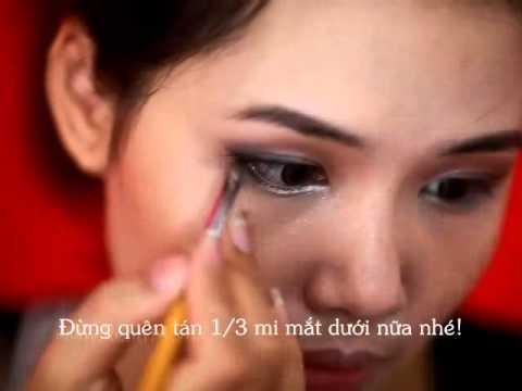 Make up xinh tươi với tone màu nâu