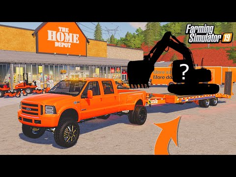 I BOUGHT NEW RENTALS FOR HOME DEPOT! | (ROLEPLAY) FARMING SIMULATOR 2019 |