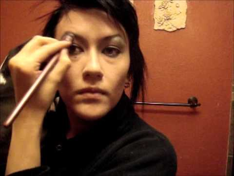 Andy Biersack Makeup Look - YouTube