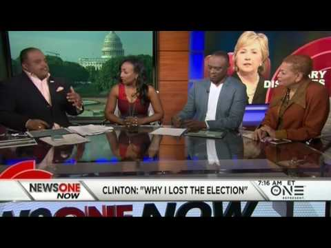 Hillary Clinton Explains Why She Lost The 2016 Presidential Election