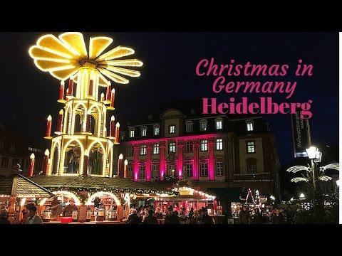 Christmas in Germany - Heidelberg