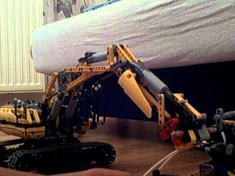 lego technik abrissbagger youtube. Black Bedroom Furniture Sets. Home Design Ideas