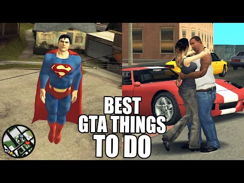 Best Things To Do In GTA San Andreas
