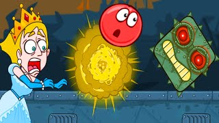 Red Ball 4 Vs Save The Girl - Funny Noob Vs Pro Compilation - Gameplay Walkthrough HD