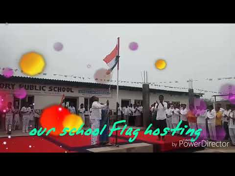 Victory High School independence day flag hosting of chinna chinta kunta