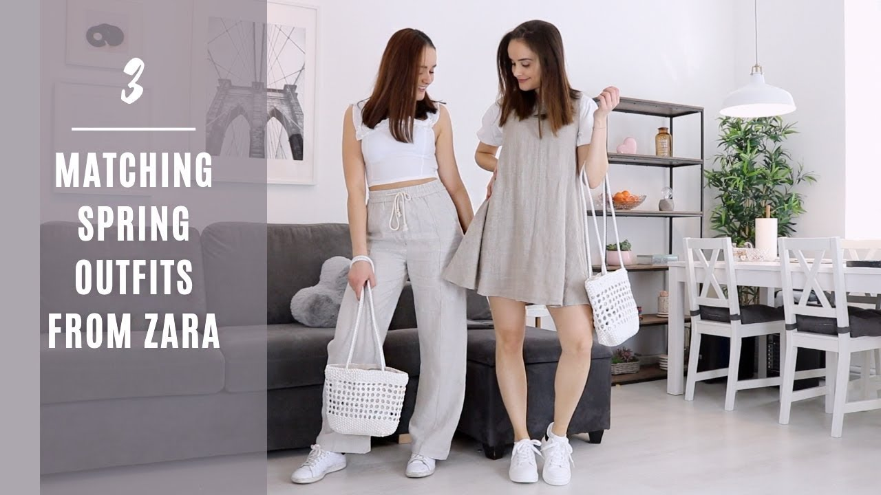 [VIDEO] - 3 MATCHING SPRING OUTFITS FROM ZARA l MATCHY STYLING 7