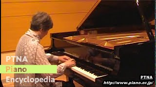 モーツァルト/ソナタ第17(16)番3楽章 K.570, Mozart/Sonate Mov.3 Allegretto 中川京子