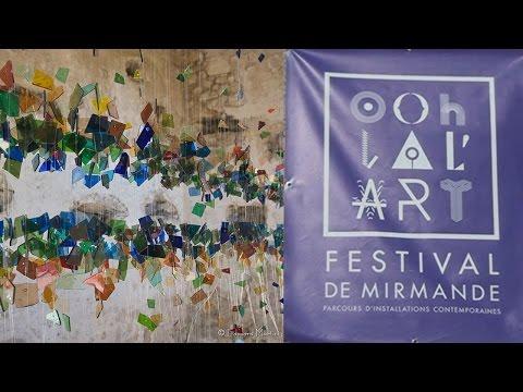 Exposition Festival Ohlalart à Mirmande 18 08 2016