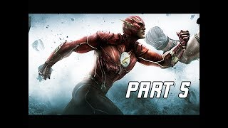Injustice Gods Among Us Walkthrough Part 5 - The FLASH (Let's Play Commentary)