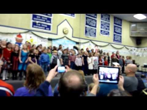 Palermo Consolidated School Christmas Concert 2012