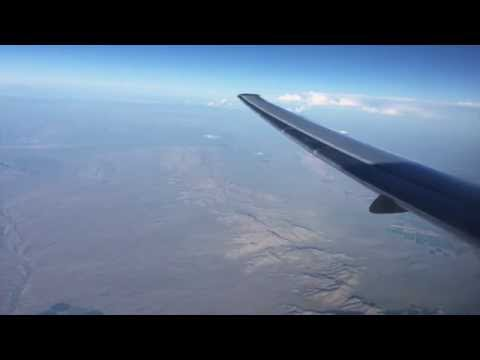 Flying - Southern Arizona Over Indian Reservations & California (onboard American Airlines)
