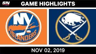 NHL Highlights   Islanders vs Sabres – Nov. 2, 2019