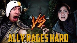 ALLY RAGES HARD (Mortal Kombat w/ Goldy & Ally)