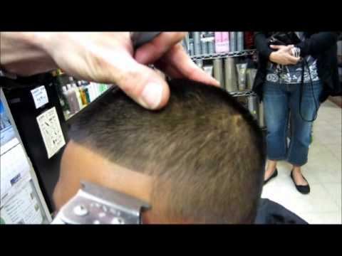 How To Front Line Up Edge Up On Kids Haircut Video Youtube