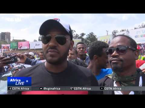 First ever inner-city car race held in Addis Ababa