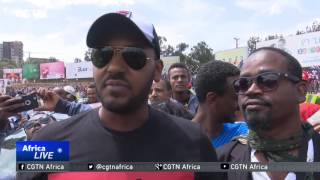 First ever inner-city car race held in Addis Ababa [2017]
