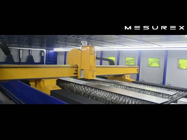 Escáner 3D antes de corte por plasma
