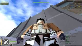 Roblox Attack On Titan (AOT) Story : Part 1