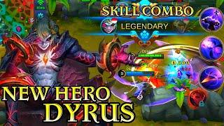 New Hero Dyrus Gameplay - Mobile Legends Bang Bang