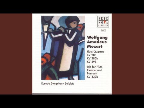 Trio For Flute, Clarinet And Bassoon In B Flat Major KV 439 B: Menuet - Trio - Menuet