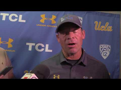 Jim Mora Post Game Presser UCLA vs. Memphis 9/16/17