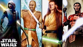 5 Types of GRAY JEDI! - Gray Jedi Explained (Legends)