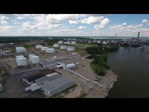 Oil Storage Companies in Rotterdam [OZBURN-HESSEY TANK FARM]