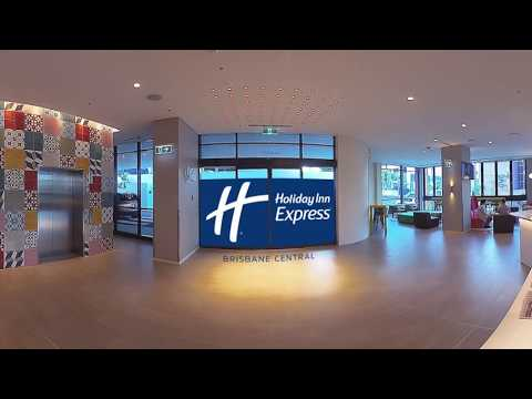 Holiday Inn Express Brisbane Central 360 Site Tour