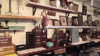 Studio Workshop & Storage For Vintage Touch Antiques
