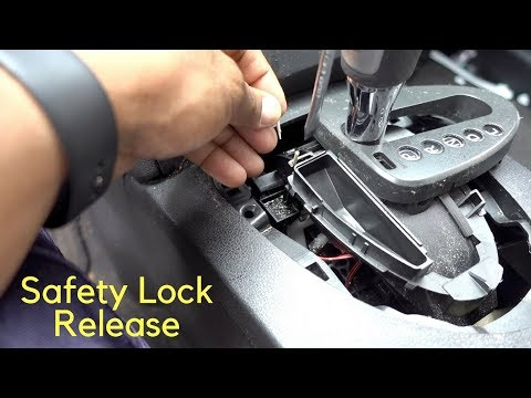 How To Fix Shift Safety Lock Release Nissan Rogue