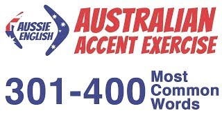 Baixar 301-400 Most Common Words | Australian Accent Pronunciation Exercise
