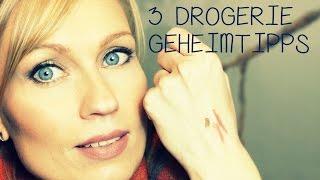 3 DROGERIE-GEHEIMTIPPS