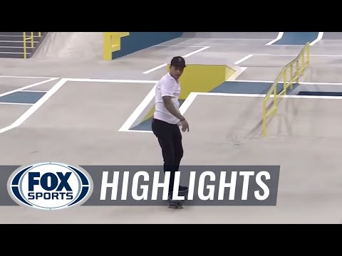 Nyjah Huston's two awesome trick attempts seal the win in New Jersey - SLS World Tour Highlights