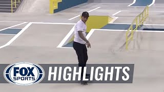 Nyjah Huston's two awesome trick attempts seal the win in New Jersey- SLS World Tour Highlights