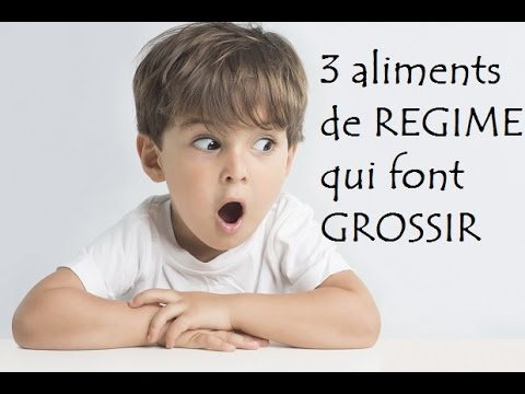 3 aliments de regime qui font grossir youtube. Black Bedroom Furniture Sets. Home Design Ideas