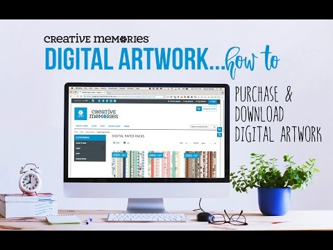 How to Purchase and Download Digital Artwork
