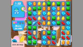 Candy Crush SODA SAGA level 68 basic strategy