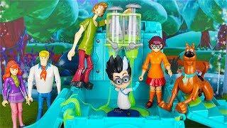 La banda di Scooby Doo alla ricerca dei Pj Masks Super Pigiamini [Storie con i giocattoli]