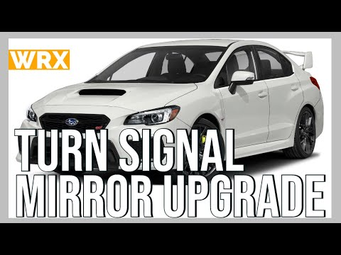 2015 Subaru WRX: STi/S4 Turn Signals and Caps Installation