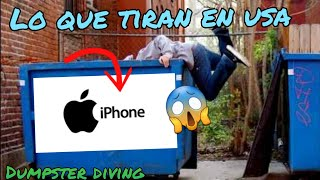 DUMPSTER DIVING🇺🇸🇲🇽increible lo que tiran en USA
