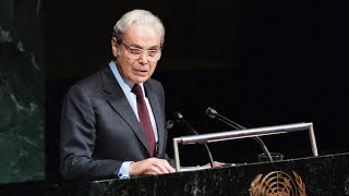 Javier Pe'rez de Cue'llar, 1920-2020 Javier Pe'rez de Cue'llar, who served as United Nations Secretary-General for a turbulent decade beginning in 1982, has left a legacy of peace around the world ..., From YouTubeVideos