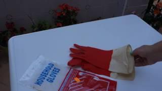 Обзор перчатки резиновые хозяйственные Китай