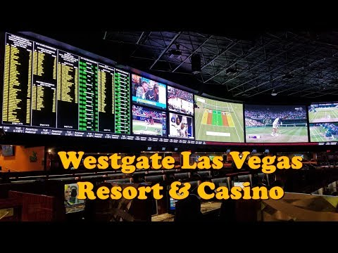 Westgate Las Vegas Resort & Casino Tour, JULY 2017..The World's largest sports book,