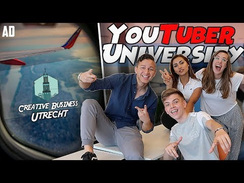 I Went To The YOUTUBER UNIVERSITY?! - A Day At Creative Business Utrecht | Simply Luke