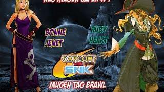 Neo Mugen Caper #9: Ruby Heart & B.Jenet
