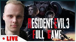 RESIDENT EVIL 3 REMAKE FULL GAME SUOMI LIVESTREAM